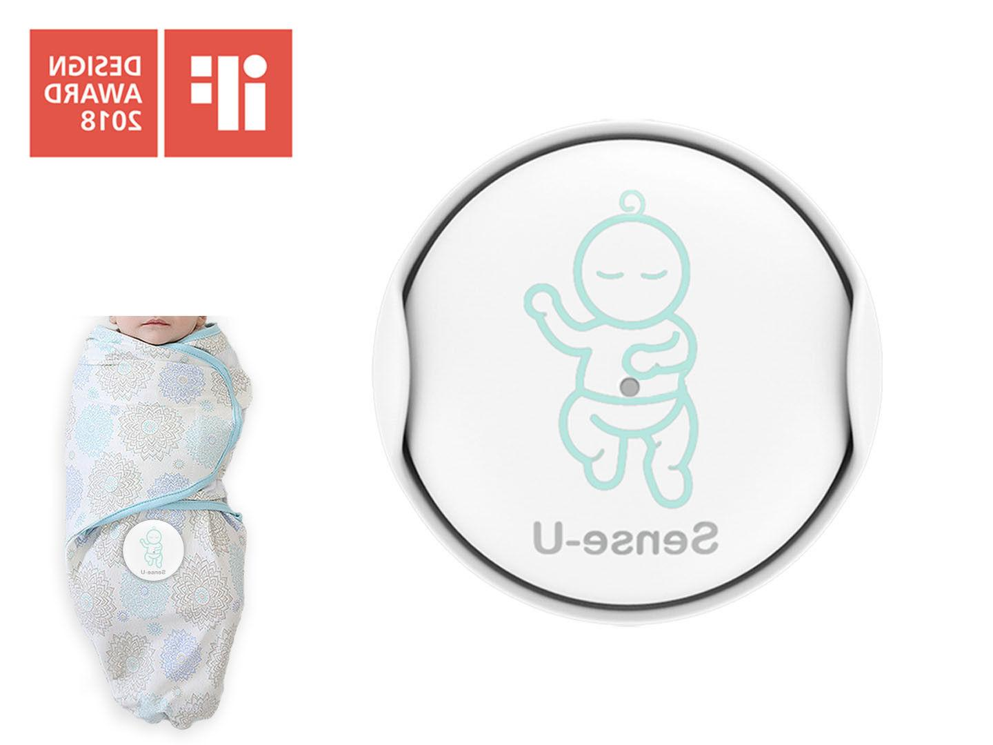 Sense-U Baby Breathing&Rollover Movement Monitor with a FREE