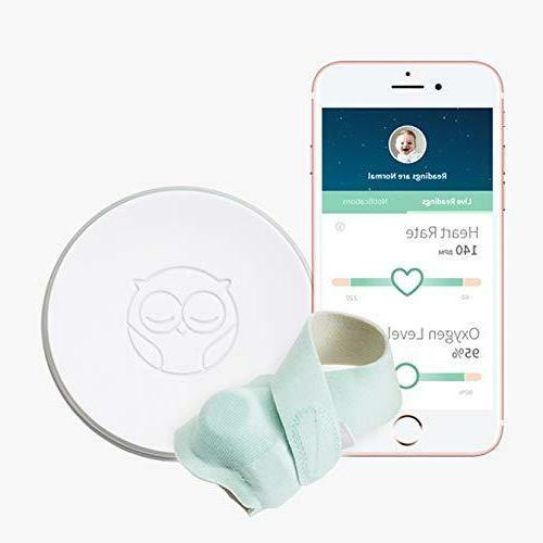 NEW Owlet Smart Sock 2 Baby Monitor Pulse Oximetry Android I