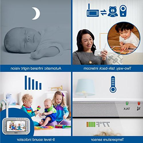 VTech Safe 4.3Expandable Video Baby Monitor