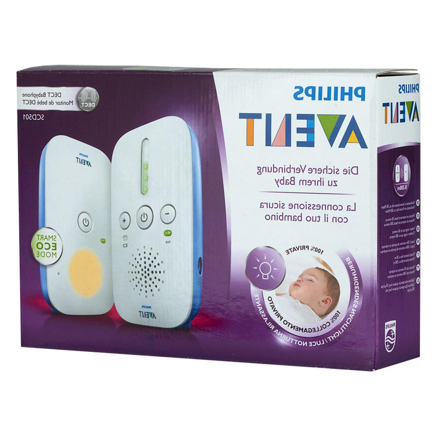 Philips Avent SCD DECT Audio Babyphone DECT technology New