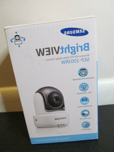 Samsung SEP-1003R HD Night Vision Additional Wireless Pan Ti