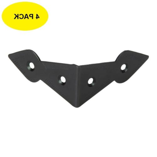set of 4 hardware surface mounted chest