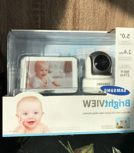 Samsung SEW-3043WN Wireless Touch Screen Baby Monitor and Ca