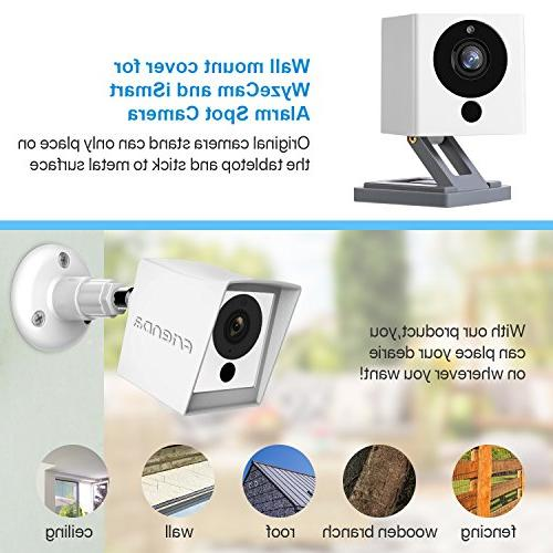 Frienda Silicone Cover iSmart Spot White 360 Degree Wall Mount, Protect from Rain/Dust/