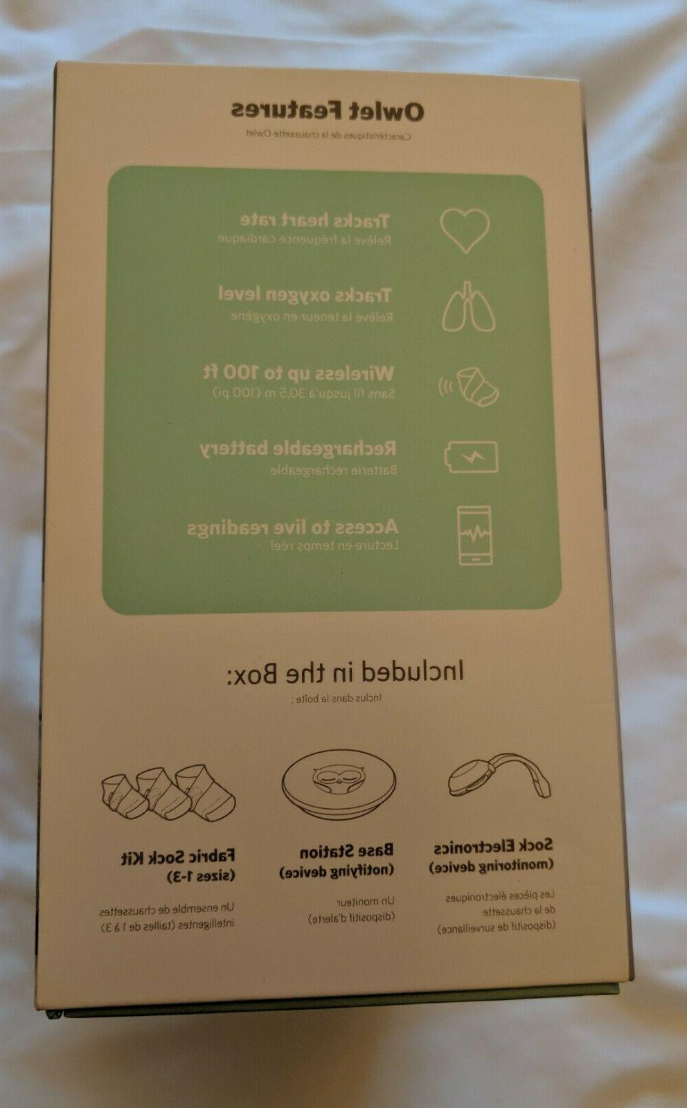 Owlet Smart 2 Baby - Never used