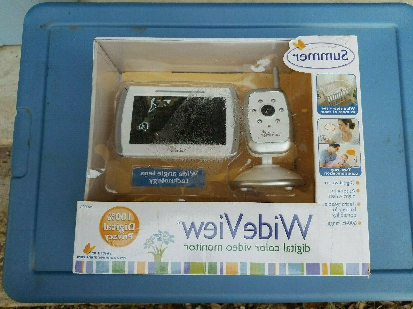 "SUMMER BABY MONITOR WIDE VIEW 5"" NIGHT VISION"