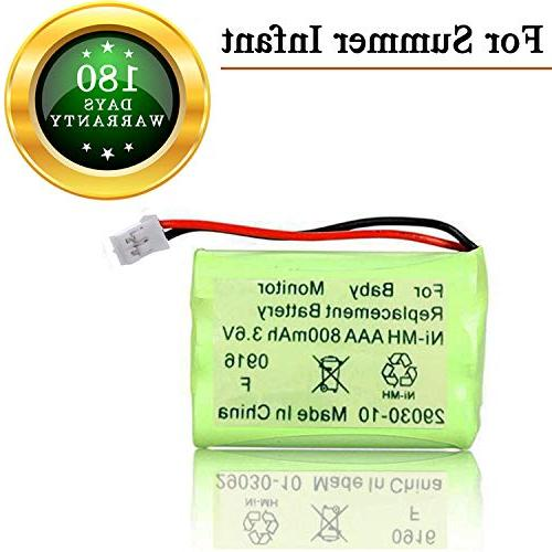 summer infant baby monitor replacement battery