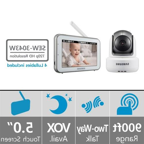 Samsung Techwin SEW-3043W BrightVIEW Baby Video Monitoring S