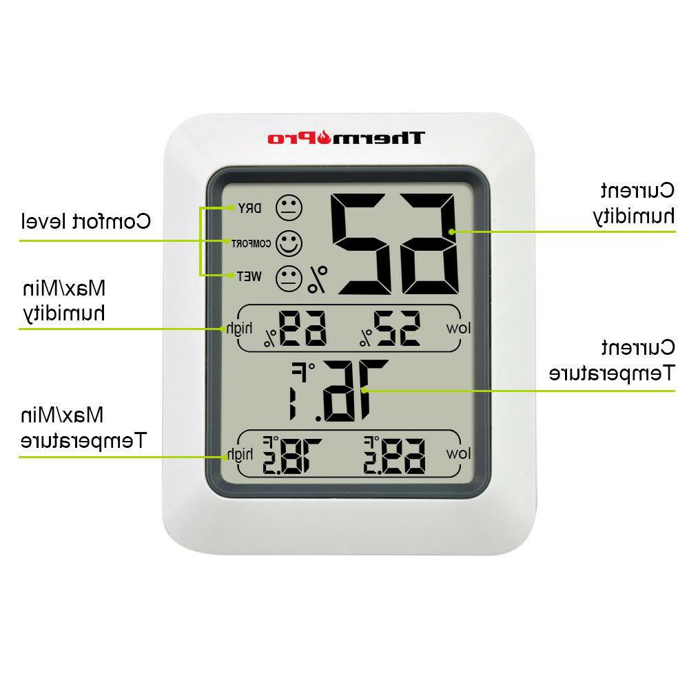 ThermoPro TP50 Digital Indoor With
