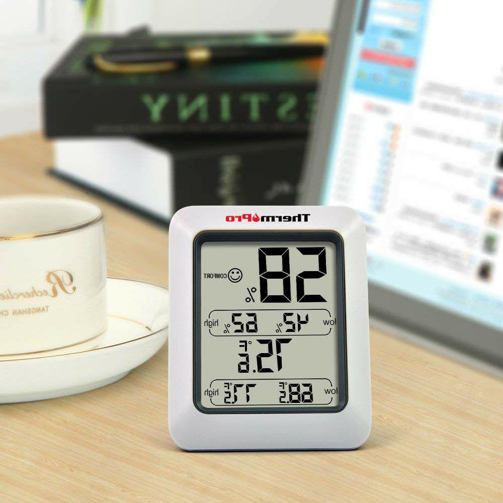 tp50 digital hygrometer indoor thermometer humidity monitor