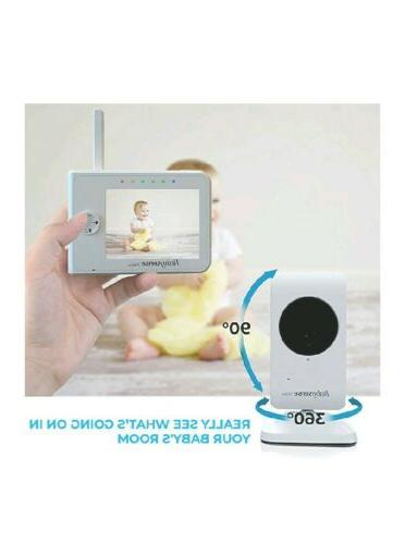 Upgraded - Video Baby Monitor 3.5 Screen White - Featuring...