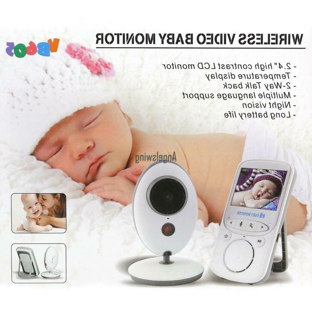 video baby infant monitor wireless digital camera