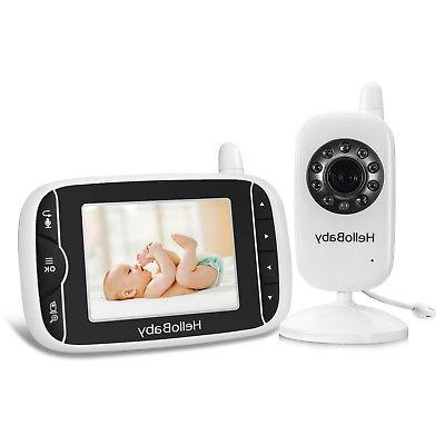 HelloBaby Video 3.2'' Display with Camera, Infrared ...