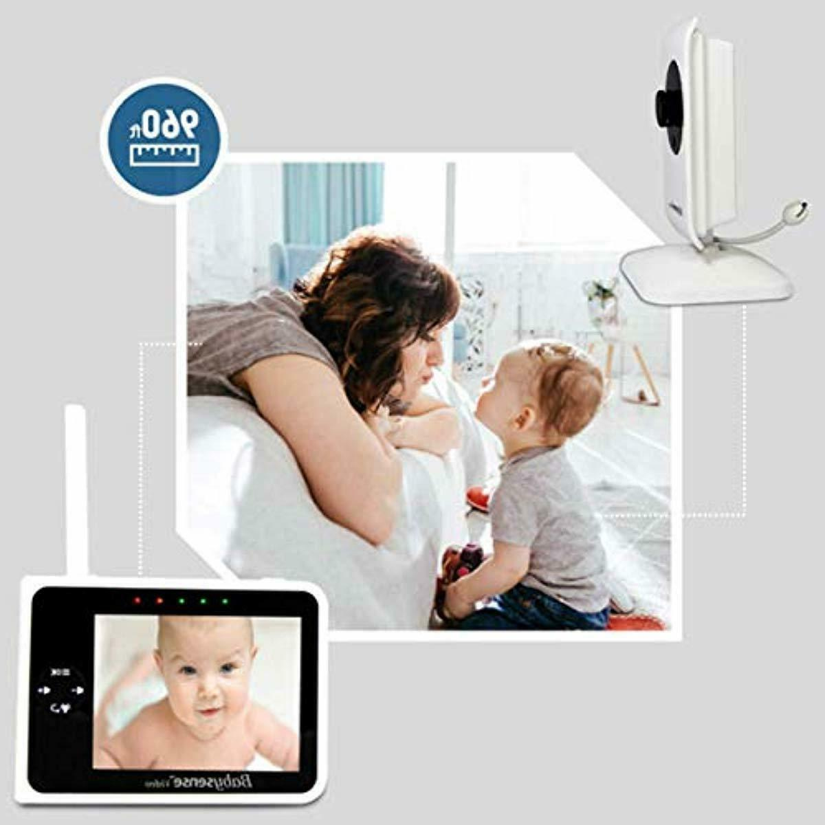 """Babysense Video 3.5"""" Two Cameras 