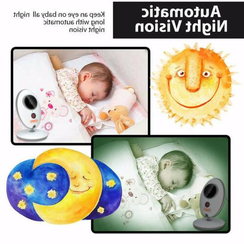 """Video Baby 2-Way Talk 2"""" Wireless Vision Play"""