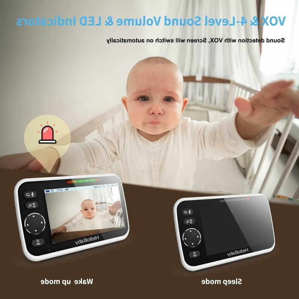 HelloBaby HB50 Video Monitor with Color LCD V...
