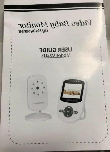 Babysense Baby Monitor LCD Display Digital Camera
