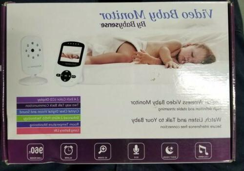 video baby monitor lcd color display digital