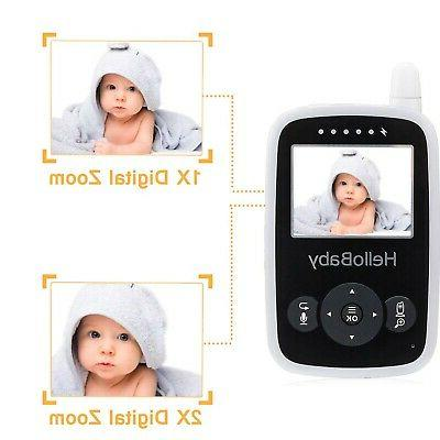 HelloBaby Video with - Infrared Night Vision, Tal...