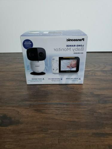 video baby monitor with extra long audio