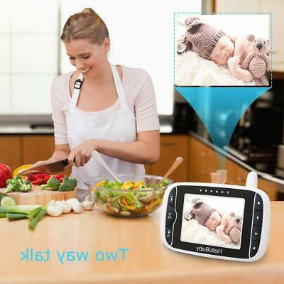 HelloBaby Video with Remote 3.2'' Color LCD
