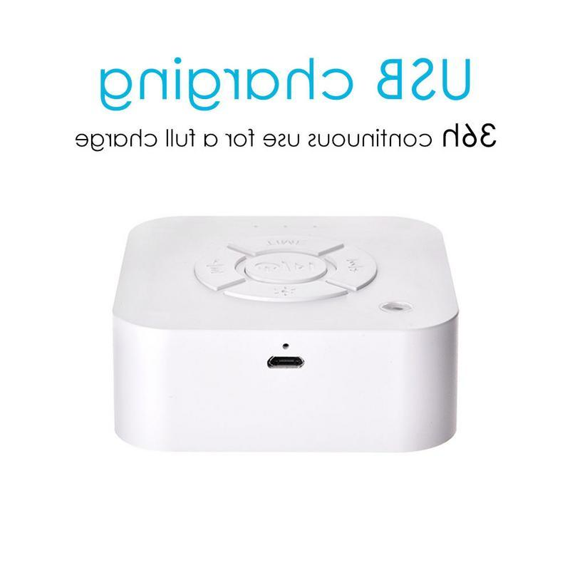 White Rechargeable Sound Sleeping Relaxation