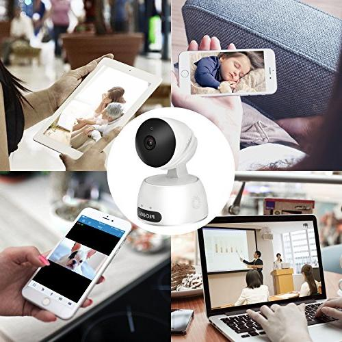 PECHAM 960P Camera Baby Monitor with Motion Way Remote by Smartphone for Home Business