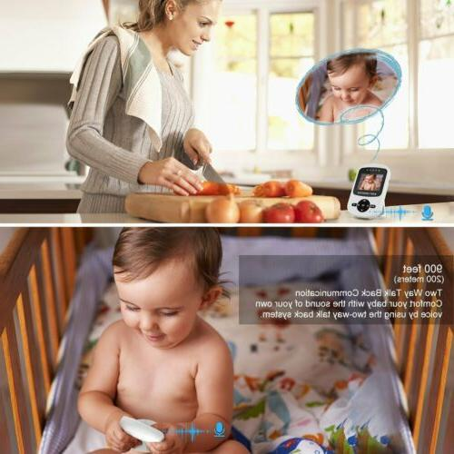 Video Baby Camera 2-Way Wireless Night MY