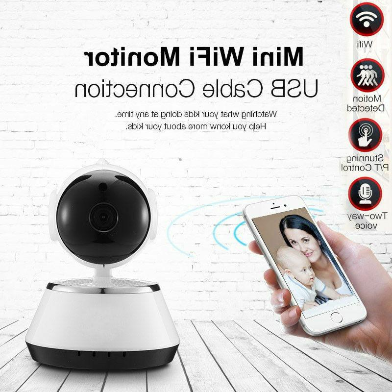 720P WIFI Pan Tilt IR Night Baby Monitor