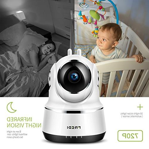 Wireless Baby Monitor, IP 720P Security IP Tilt