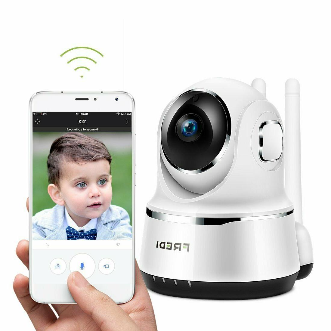FREDI Wireless Baby Monitor Security IP Home 720p WiFi Camer