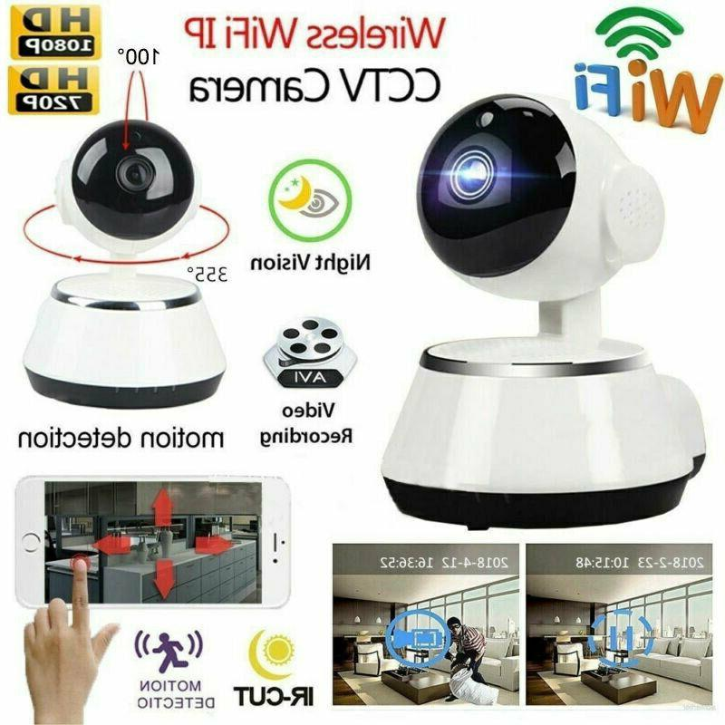 Wireless V380 720P HD WIFI Security IP Camera IR Night Home