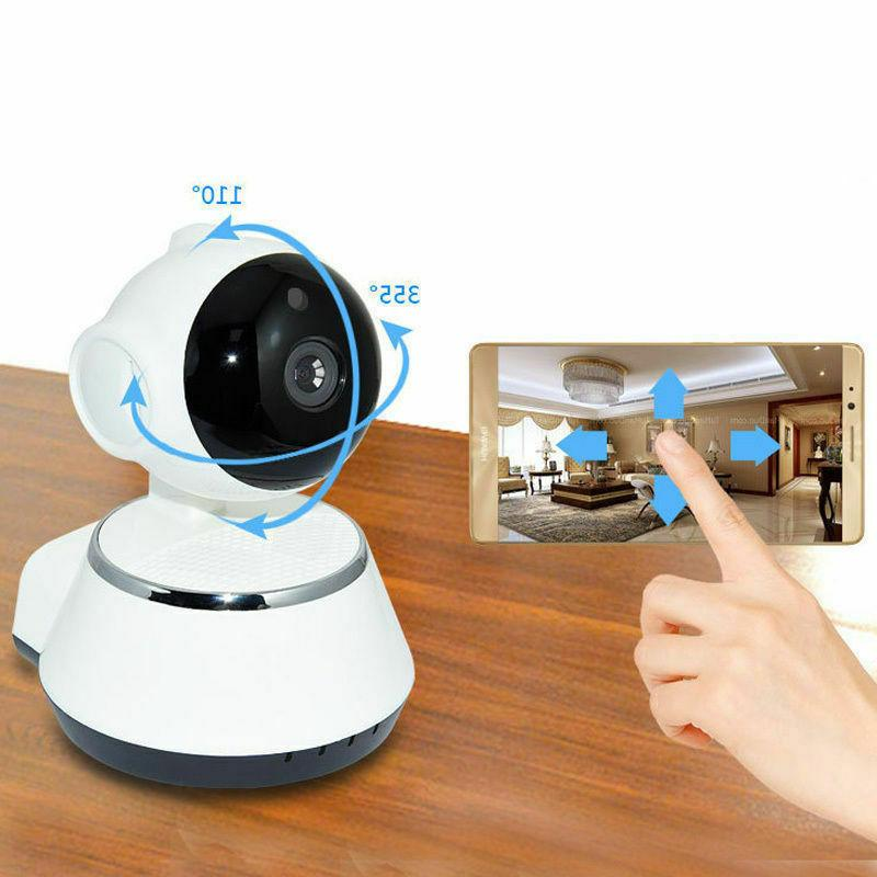 Wireless Pan Baby Security IP IR WiFi