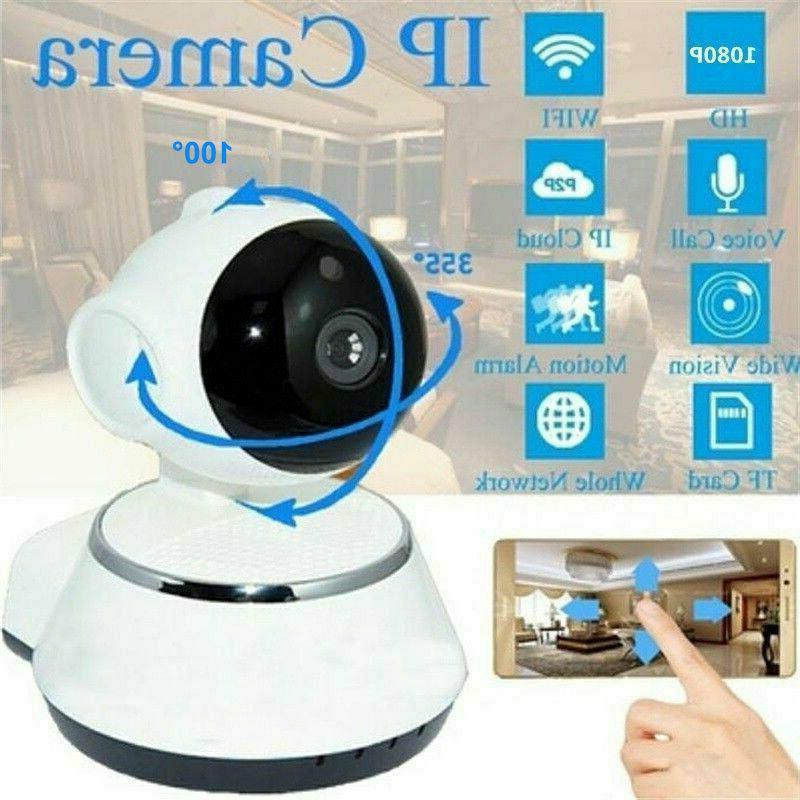 wireless hd 720p pan baby pet monitor
