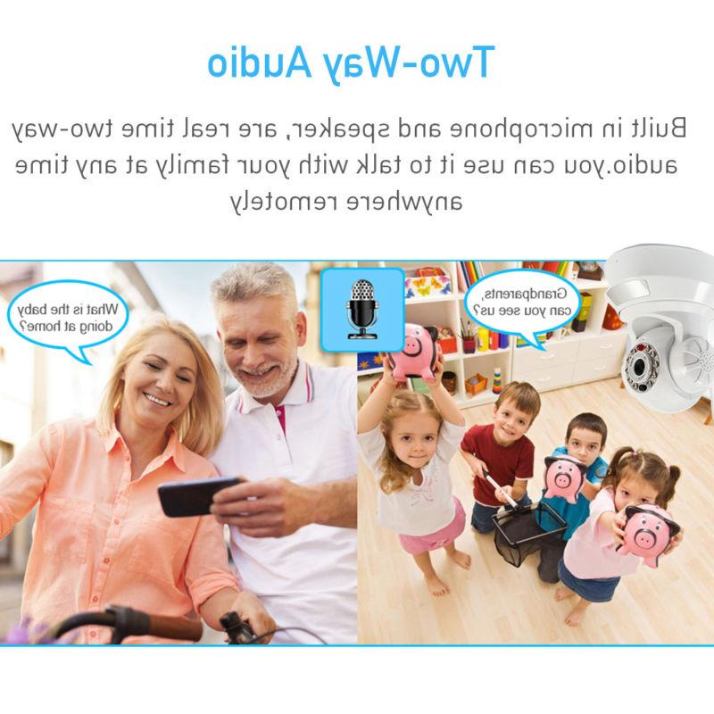Wireless HD Network Baby Monitor P2P Motion Vision