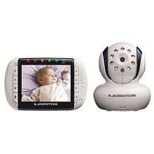 Motorola Wireless Video Baby Monitor Model MBP34T 3.5 Inch D