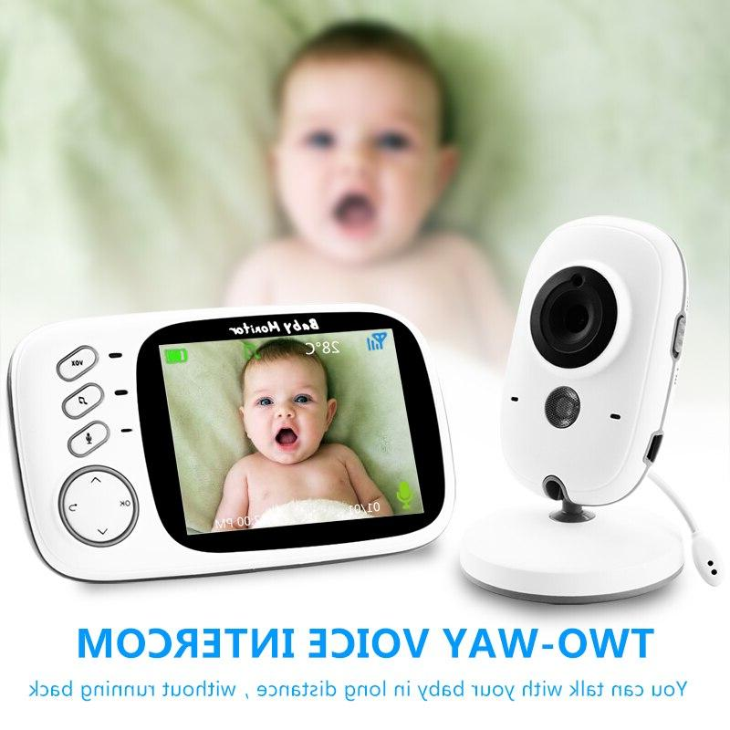 Wireless Video <font><b>Monitor</b></font> Resolution <font><b>Baby</b></font> Security Camera Vision