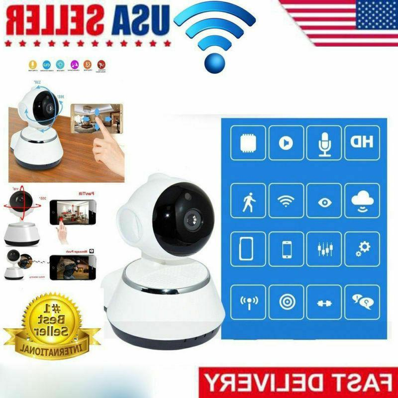 Wireless Pan HD Security Camera IR Night Baby