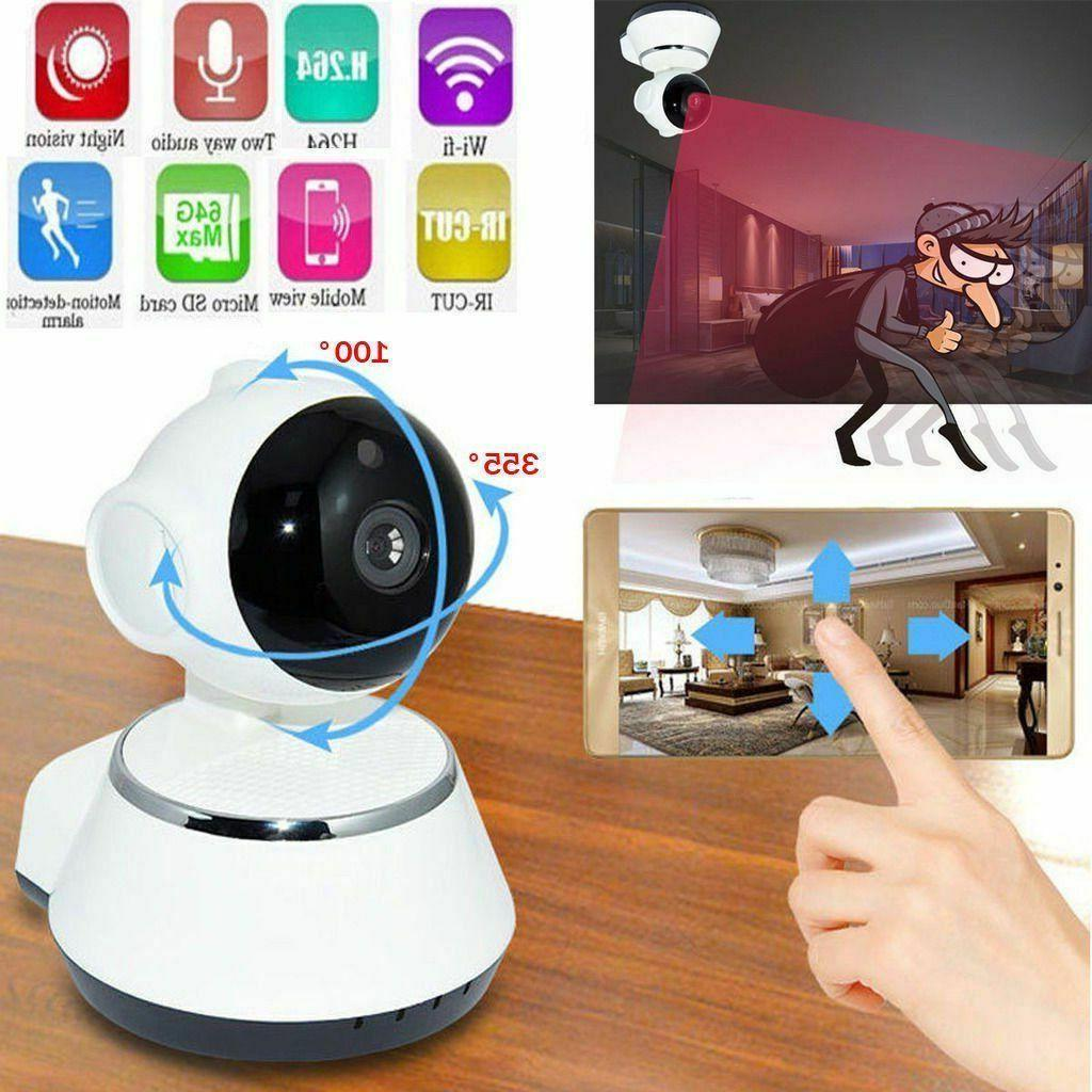 wireless wifi 720p pan hd security ip