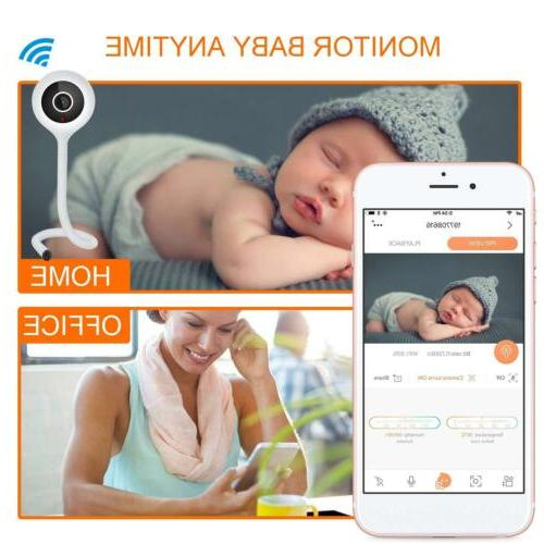Wireless Baby Temperature Monitor Detection 2 Audio Night
