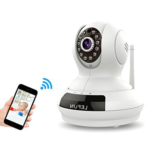 ALLFOR Cloud IP Camera HD Two Way Pan Vision Video Live