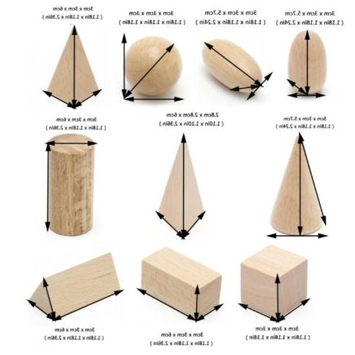 Wooden Geometric Shapes Toys