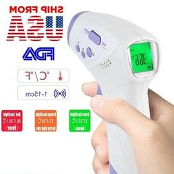 LCD Digital IR Infrared Thermometer Non-contact Temperature
