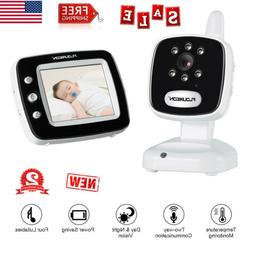 LCD Smart 2.4GHz Digital Security IP Camera Baby Monitor 2-W