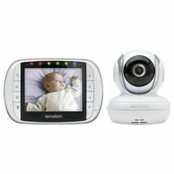 "Motorola MBP33XL 3.5"" Video Baby Monitor with Digital Zoom T"