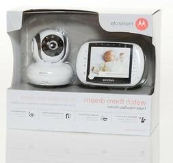 Motorola MBP36S Remote Wireless Video Baby Monitor with 3.5'