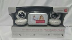 "Motorola Mbp38s 2 Digital Video Baby Cam Wit 4.3"" Color LCD"