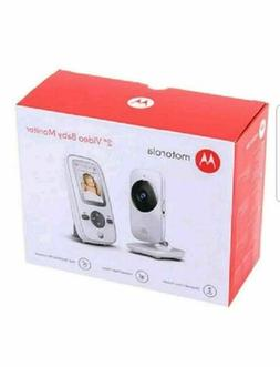 Motorola MBP481  2.4 GHz Digital Video Baby Monitor with 2-I