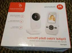 Motorola MBP481 2.4GHz Digital Video Baby Monitor with 2-Inc