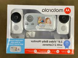 """Motorola  - 2.8"""" Video Baby Infant Monitor w/ Two Cameras..."""